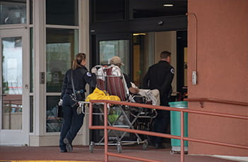 Denver Health Paramedics at Denver Health Emergency Room