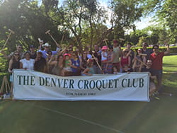 Denver Croquet Club Denver Health Hospitalist Event 2016