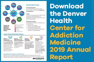 Center for Addiction Medicine 2019 Annual Report Thumbnail
