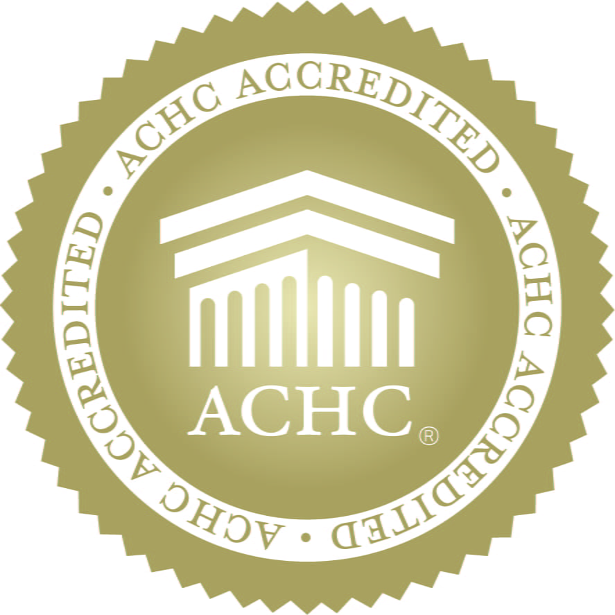 ACHC Gold Seal of Accreditation 2018