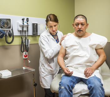 Denver Health Patient with Doctor