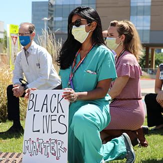 Denver Health participates in White Coats for Black Lives