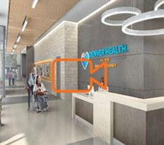 Outpatient Medical Center Denver Health interior rendering