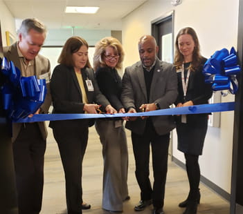Denver Health Rose Andom Ribbon Cutting