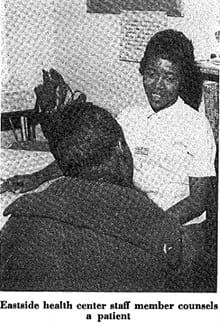 patient at Eastside Denver Health 1969