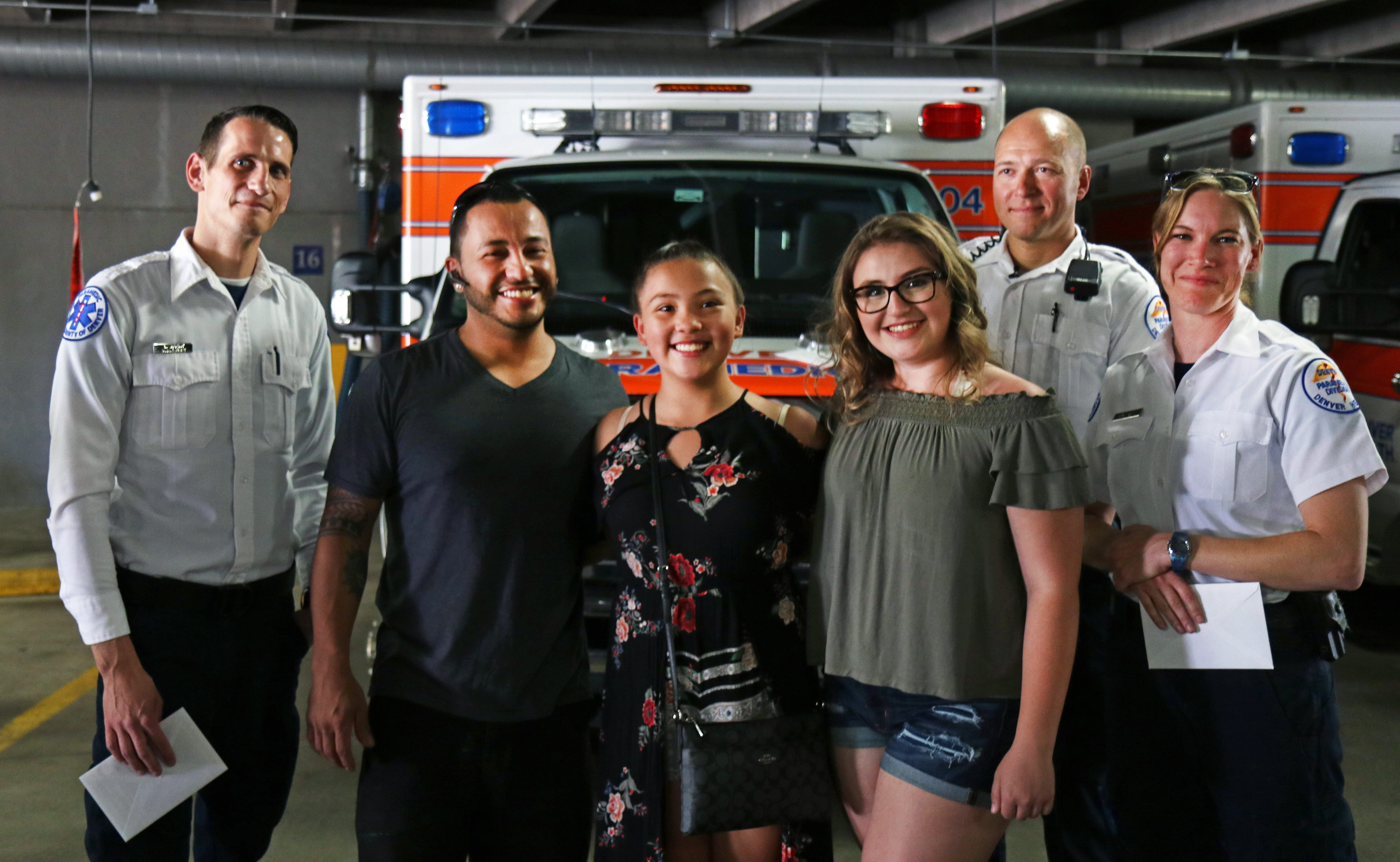 Patient Reunion for Denver Health Paramedics