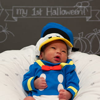 Halloween costumes for Denver Health NICU babies 2020