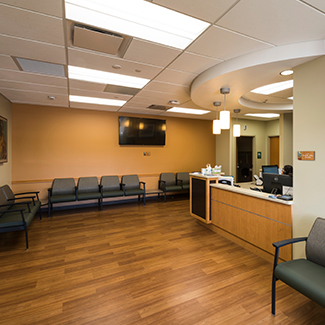 Denver Health Southwest Urgent Care waiting area