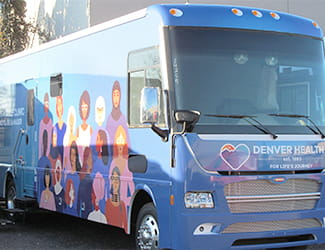 new van coming to Denver Health Women's Mobile Clinic