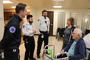 Denver Health Paramedics reunite with patient